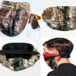 Bungee Fit RealTree Camo Pull Over Face mask